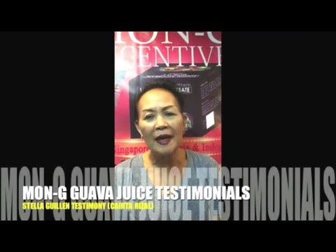 MON G GUAVA with Banana extract testimony by Mrs STELLA GUILLEN