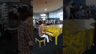 エイミー / 茅原実里 都庁ピアノで弾いてみた 『ヴァイオレット・エヴァーガーデン 外伝 -永遠と自動手記人形-』ED主題歌