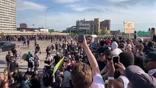 Semi crashes into peaceful protest in Minneapolis
