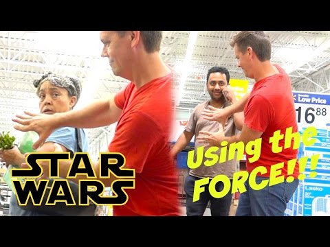 USING THE FORCE IN PUBLIC - May the 4th Be With You - Star Wars Prank