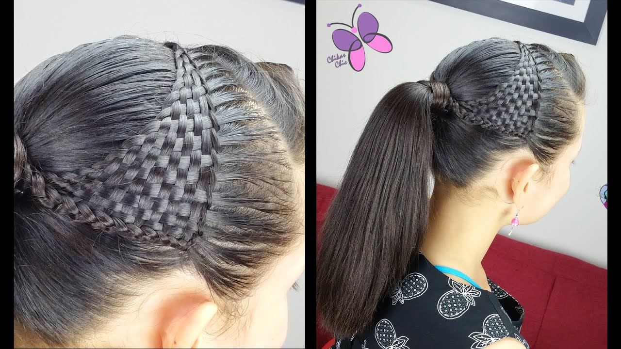 Basket Woven Ponytail - Basket wave | Cute Girly Hairstyles ...
