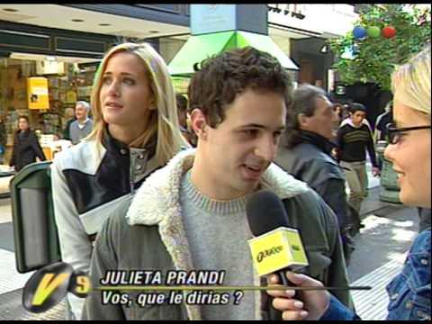 Julieta Prandi, ¿Que Le Dirías? - Versus 2001