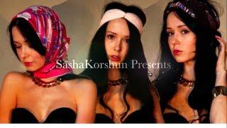 Смотреть видео как красиво повязать платок на голову видео