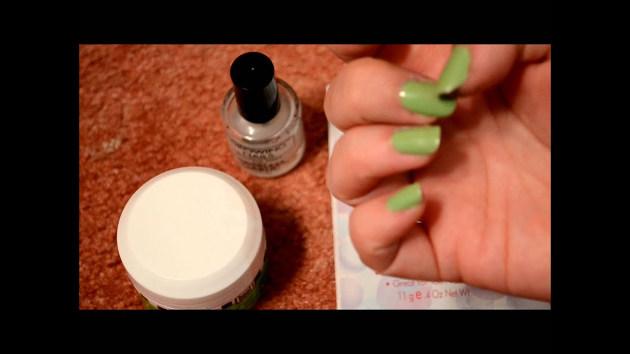 Review 3 nail products I\'ve been using - YouTube
