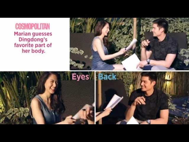 Marian Rivera and Dingdong Dantes: The Cosmo Couple Challenge! Travel Video