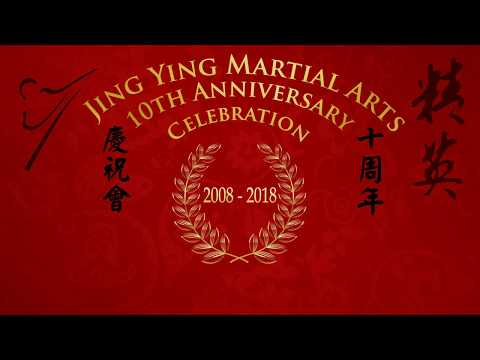 Jing Ying 10th Anniversary Martial Arts Performance 2018