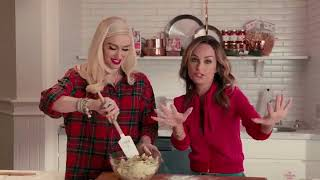 Gwen Stefani and Giada De Laurentis In the Kitchen, December 11, 2017