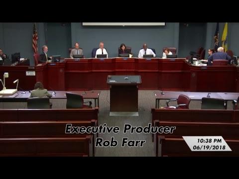 Arlington County Board Meeting - June 19, 2018