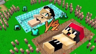 ARMES GRAB VS REICHES GRAB IN MINECRAFT