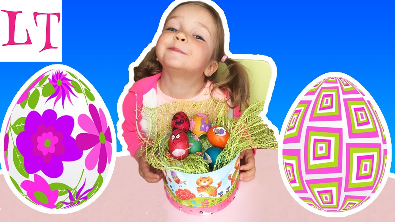Красим яйца на Пасху - YouTube