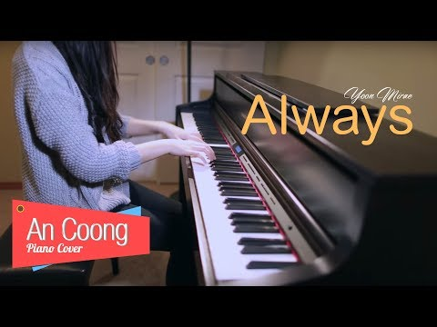 Yoon MiRae [윤미래] Always [Descendants Of The Sun OST] | PIANO COVER | AN COONG PIANO