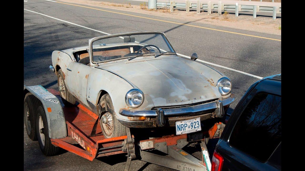 1968 triumph spitfire mk3 restoration project part 1 picking her up youtube. Black Bedroom Furniture Sets. Home Design Ideas