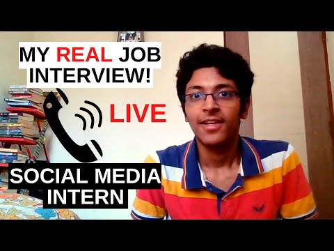 What A REAL Social Media Marketing Interview Looks Like | #interview #socialmedia