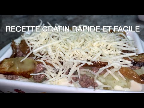 gratin-aubergine-facile-et-rapide-/-كراتان-البادنجان-و-البطاطس-والكفتة-بصوص-بيشاميل😋😋