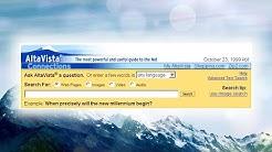 Before Google, there was Altavista!