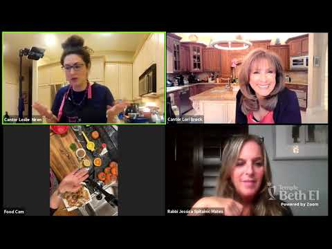 """Chanukah Cooking Class with Special Guest """"Cantor in the Kitch"""" - Cantor Leslie Niren"""