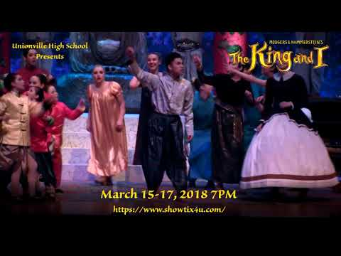 The King and I Commercial, Unionville High School Musical 2018