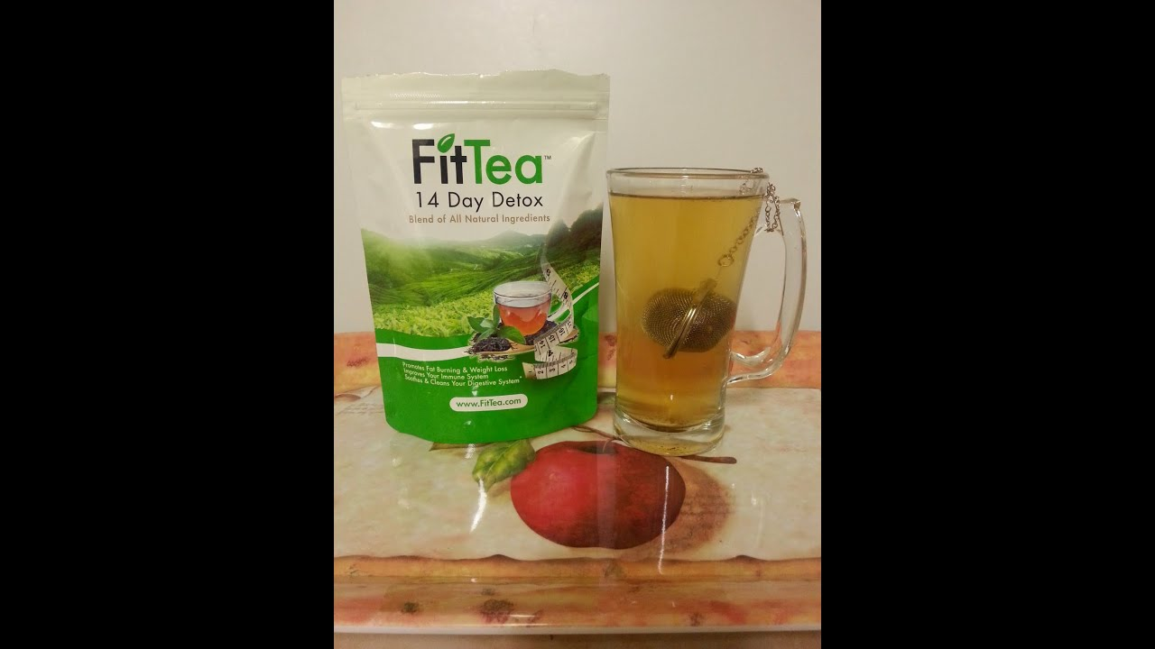 Losing Weight with Fit Tea (Review) - YouTube