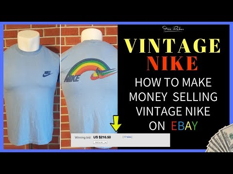 Best Items to Sell on eBay ( Vintage Nike Shirts ) From Thrift Stores & Garage Sales