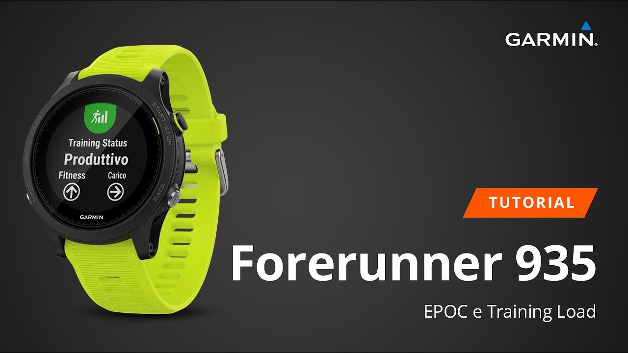 Forerunner 935 - EPOC e Training Load [Tutorial]