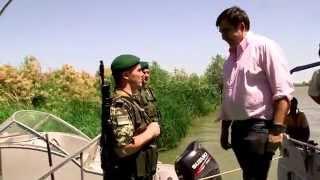 Саакашвили с пограничниками осматривает заповедные места встречается с простыми украинцами