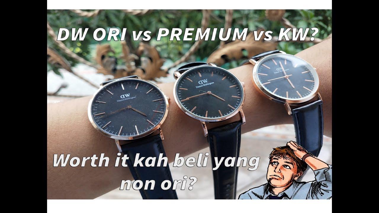 Cara membedakan jam dw ori dan kw
