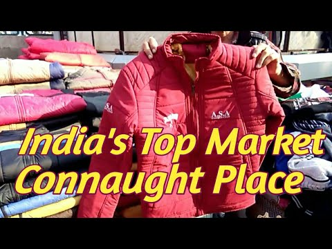 India's Top Market Connaught Place Delhi  !! India No.1 Mark