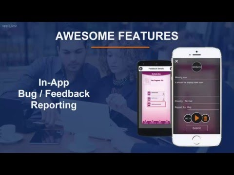 appOwiz : All-in-One Tool for Bug Tracking, Crash Reporting, Visual Feedback, OTA App Distribution