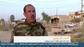 هدوء حذر في الجبهة الشرقية للموصل