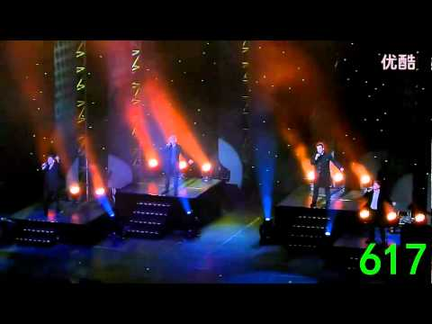 [Fancam] Westlife The Farewell Tour Live in Beijing 2012 on 22 February 2012 by eachin