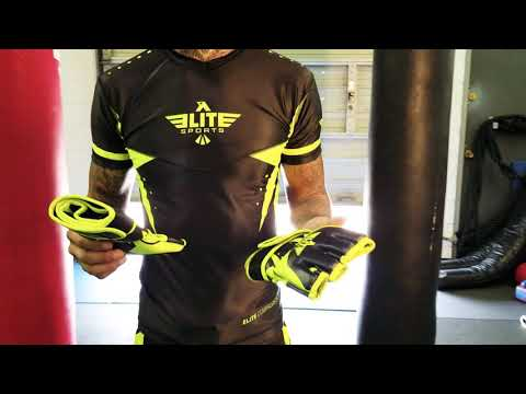 Elite Sports MMA gloves review by Savage Diamond