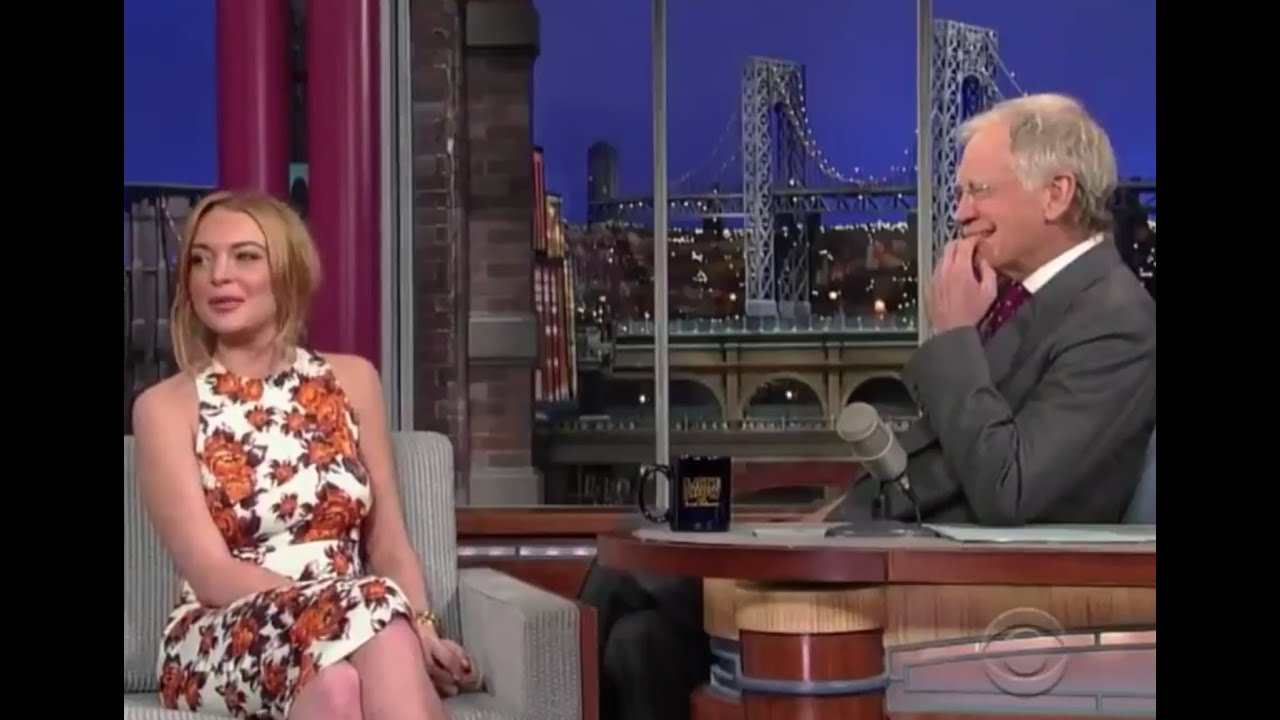 Letterman faces criticism over 2013 Lohan interview