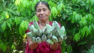 Healthy Village Foods - Ash Plantain Gravy prepared in my Village by my Mom