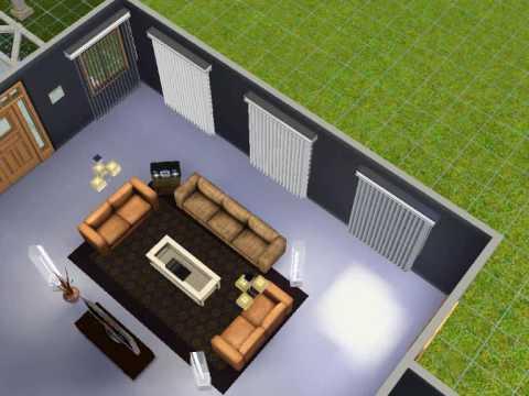 Construindo uma casa no the sims 3 parte 1 youtube for Sala de estar the sims 4