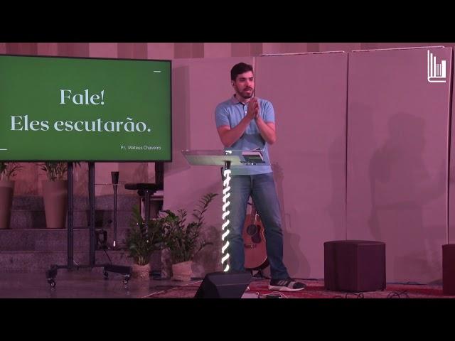 CULTO DE JOVENS - FALE! ELES ESCUTARÃO