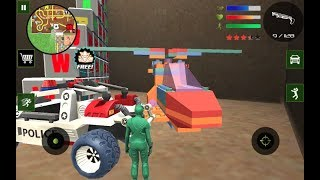 Army Toys Town #Toy Tank | Lego Helicopter & Car | by Naxeex Studio | Android GamePlay FHD