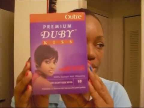 Duby Kiss Short Cut Hairstyle Youtube