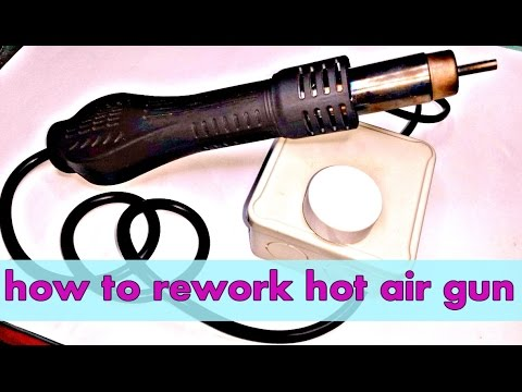diy Cheap hot air gun