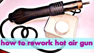 how to make Cheap hot air gun