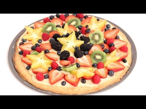 Dessert Pizza Recipe - Laura Vitale - Laura in the Kitchen Episode 760