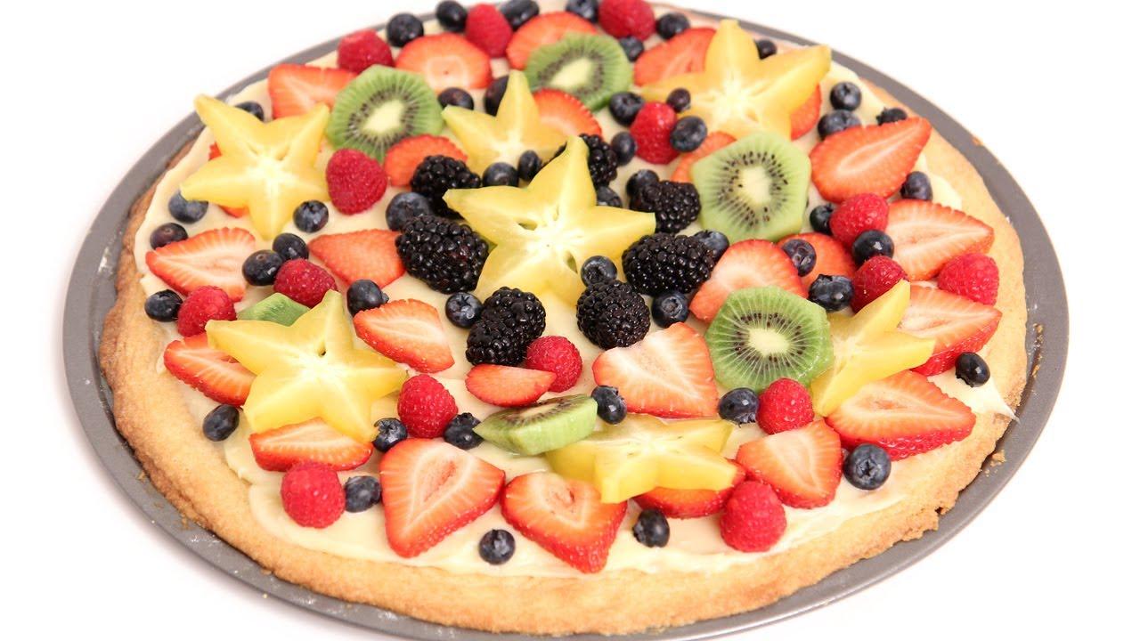 dessert pizza recipe - laura vitale - laura in the kitchen episode