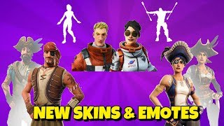 New SKINS, EMOTES & EDIT STYLES In-Game Fortnite
