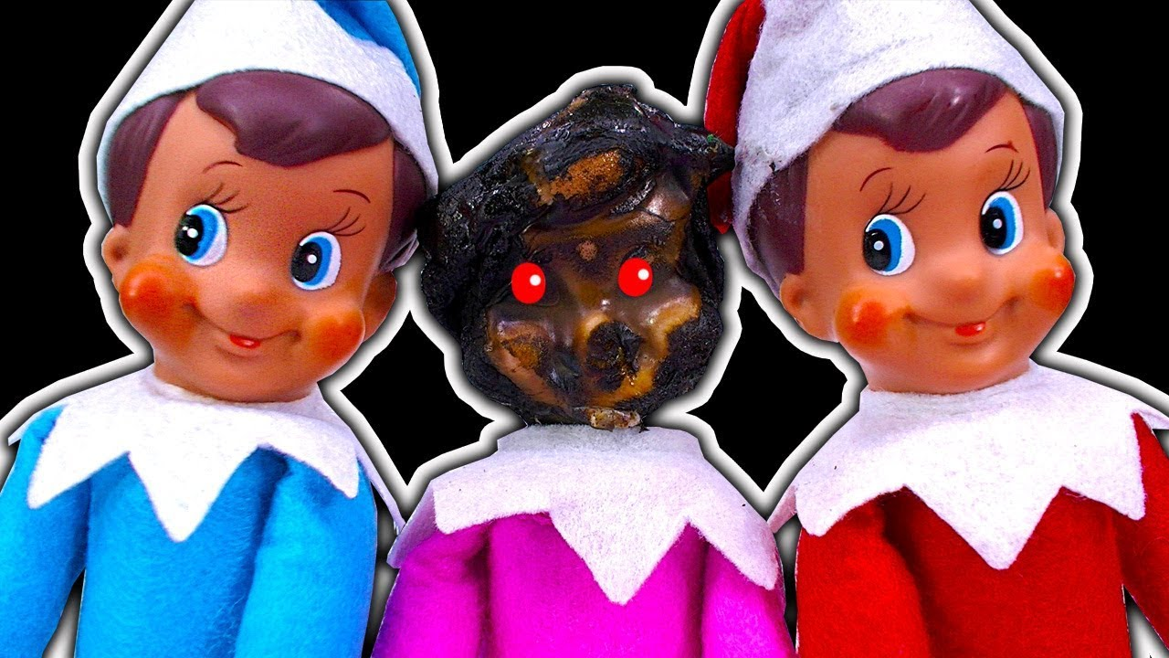 elf on the shelf dark side a twisted christmas tradition trouble - A Twisted Christmas