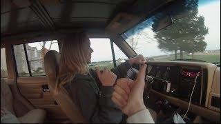 Letting my GIRLFRIEND Drive My Lifted Manual Jeep Cherokee
