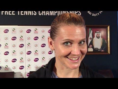 Lucie Safarova, Elise Mertens, Anastasia Pavlyuchenkova feeling confident in Dubai