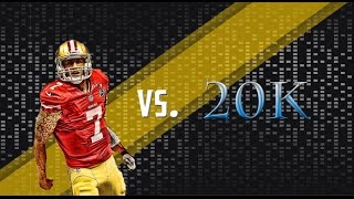 MADDEN 15 COLIN KAEPERNICK WAGER MATCH! FIRST GAMEPLAY VIDEO! ENJOY! Thumbnail