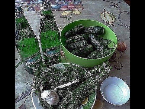 Соленые огурцы на закусочку