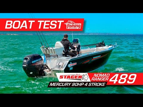Boat Test: Stacer Nomad Ranger 489 with Mercury 90HP 4 stroke