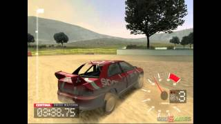 Colin McRae Rally 3 - Gameplay PS2 HD 720P