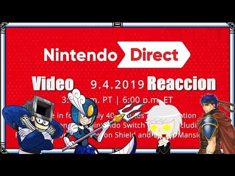 Nintendo Direct 4/9/2019 Video Reaccion